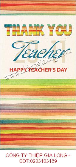 Những mẫu thiệp 20 11 đẹp nhất gởi tặng Teacher