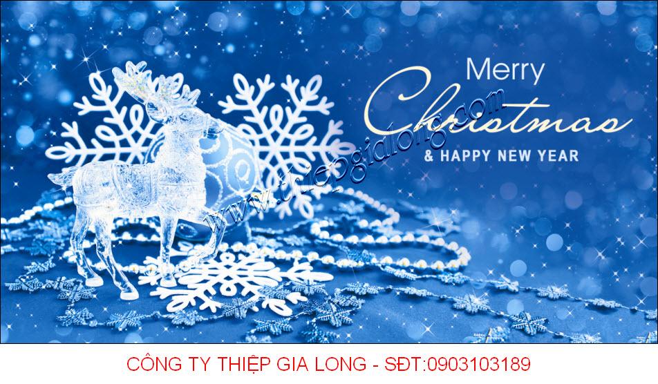Thiệp Noel 2017