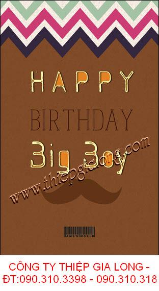 www.123nhanh.com: Thiệp sinh nhật đẹp của các chàng Boy bảnh bao