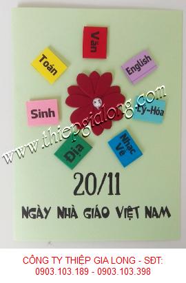 www.123nhanh.com: Thiệp 20-11 Độc Đáo Năm 2019