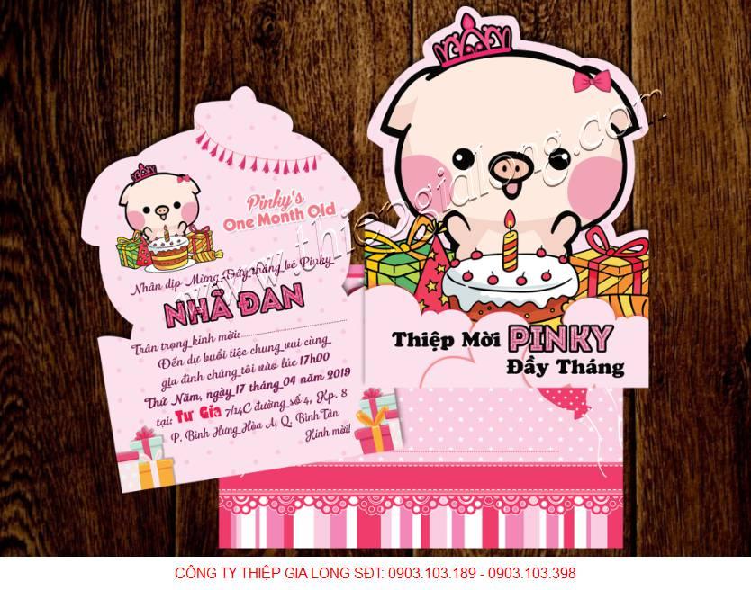 Thiep Moi Day Thang Cho Be Gai Tuoi Heo