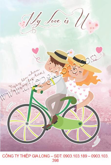 Thiệp Chúc Mừng Sinh Nhật Tặng Vợ Yêu