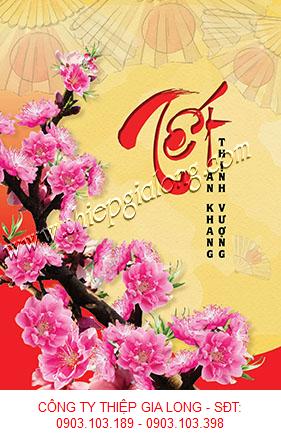 Diễn đàn rao vặt tổng hợp: Thiệp Xuân 2020 Với Chủ Đề Hoa Đào Thiep-tet-GL-2250