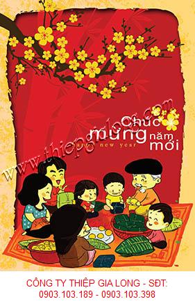 Thiệp chúc Tết 2020 mang đậm nét truyền thống dân tộc Thiep-tet-GL-2258%281%29